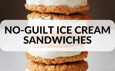 No Guilt Ice Cream Sandwiches