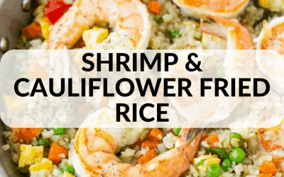 Shrimp and Cauliflower Fried Rice