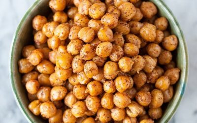 Crispy Chickpea Snacks
